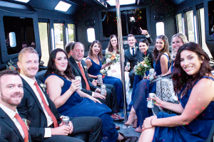 Fort Worth Wedding Shuttle Bus Rentals, Limousine, Sedan, Party Bus, Charter, Bride, Groom, Classic, Vintage, Antique, White Rolls Royce Bentley, One Way, Limo, Bridal Party, Groomsmen