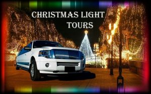Houston Christmas Lights Limo Bus Rentals, Limousine, Sedan, Van, SUV, Party Bus, Shuttle, Charter, Spirit, Holiday, Trail of Lights, Santa, Dallas, December Nights, Festival of Lights
