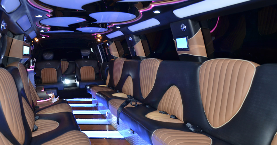 Houston Infinity Limo Rates, Limousine, White, Black Car Service, Wedding, Round Trip, Anniversary, Nightlife, Getaway, Birthday, Brewery Tour, Wine Tasting, Funeral, Memorial, Bachelor, Bachelorette, City Tours, Events, Concerts