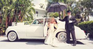 Houston Wedding Getaway Car Services, Limo Rental, Luxury Sedan SUV, Party Bus, Shuttle, Charter, Bride, Groom, Classic, Vintage, Antique, White Rolls Royce Bentley, One Way, Limousine, Cadillac Escalade, Lincoln